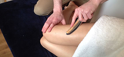 Using the Instrument Assisted Soft Tissue Manipulation FS-One tool