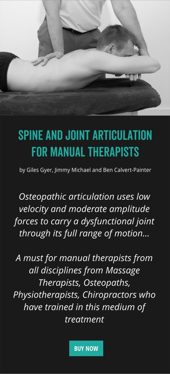 Specialist osteopaths and qualified lecturers  OMT Training
